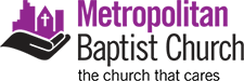 Metropolitan Baptist Church of Tulsa Sticky Logo