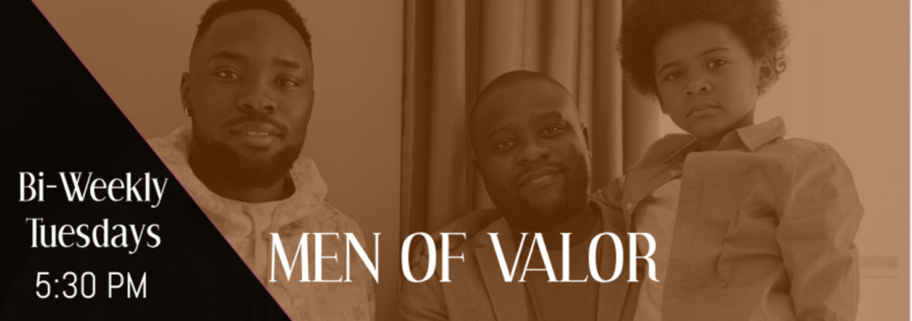 Men Of Valor Connect Group